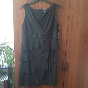 NWT Chaps black evening/cocktail party dress